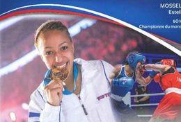 MOSSELY Estelle Boxe 60kg Championne Du Monde / Sport Olympique FFB - Boxing