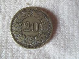 Suisse: 20 Centimes 1850 BB - Suisse