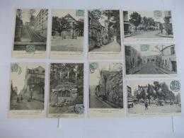 Lot De 9 Cartes D'une Même Série Paris Vieux Montmartre Edition BF Paris Berthaud Frères - Other