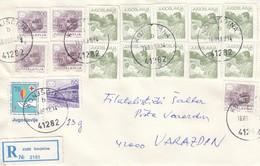 YUGOSLAVIA Cover Letter 44 - Ohne Zuordnung
