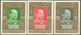 Afghanistan 1964 Stamps King Zahir Shah Birthday MNH - Afghanistan