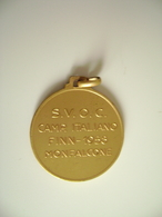 1958 MONFALCONE  CAMP. ITALIANO FINN SVOC    CANOA REMI REGATA  VELA SPORT MEDAGLIA MEDAL - Rowing