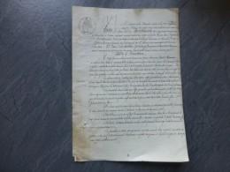86 VIVONNE 1870 Procès Foire De Vivonne, Boutineau VsRoché (Marennes) Farine ; Ref 505VP40 - Historical Documents