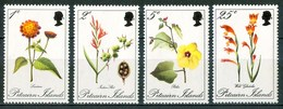 1973 Pitcairn Fiori Flores Fleurs Set MNH** Fio123 - Pitcairn