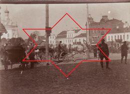 Photo 14-18 GRODNO (Voblast De Hrodna) - Marktplatz, Soldaten (A189, Ww1, Wk 1) - Belarus