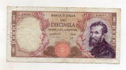"Italia - Banconota Da Lire 10.000 ""Buonarroti"" Decreto 14.01.1964 - "" R "" -  (FDC8536) - [ 2] 1946-… : Républic"