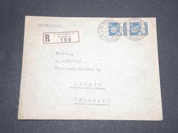 SUISSE - Enveloppe En Recommandé En 1934 De Lausanne Pour Amiens - L 13939 - Cartas