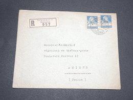 SUISSE - Enveloppe En Recommandé En 1934 De Lausanne Pour Amiens - L 13940 - Cartas