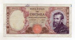 "Italia - Banconota Da Lire 10.000 ""Buonarroti"" Decreto 14.01.1964 - "" R "" -  (FDC8538) - [ 2] 1946-… : Républic"