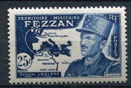FEZZAN -  Yv. N°  52  ** MNH   25f  Gal Leclerc Cote  6,6 Euros  TBE - Fezzan (1943-1951)