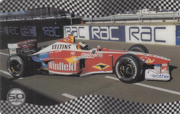 UK   Phonecard- SportsCall Remote Memory - F1 Race Cars - Superb Mint Condition - Ver. Königreich