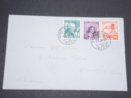 SUISSE - Enveloppe De Gurnigel Bad Pour La France En 1939 , Affranchissement Plaisant  - L 13945 - Cartas