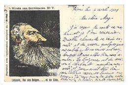 LEOPOLD Roi Des Belges..et De Cléo, Caricature Musée Des Souverains N° V - L 1 - Satira