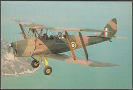 De Havilland DH.82A Tiger Moth T6645 (G-AIIZ) - Skilton's Postcard - 1919-1938: Between Wars