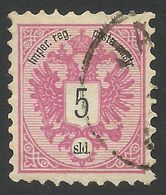 Austria, Offices In Turkey, 5 S. 1883, Sc # 10, Mi # 10A, Used. - Levante-Marken