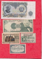 Pays Du Monde 10 Billets état Voir Scan  Lot N °431 (3) - Coins & Banknotes