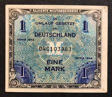 GERMANIA GERMANY ALLIED OCCUPATION WW2 1 MARK 1944 Sup/fds  LOTTO 446 - Zonder Classificatie