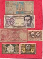 Pays Du Monde 10 Billets état Voir Scan  Lot N °433 (3) - Coins & Banknotes