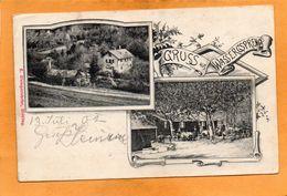 Gruss Aus Wassergspreng 1900 Postcard - Other