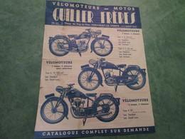 Vélomoteurs - Motos GUILLER FRERES - 1, Place Du Puy-la-Vau, FONTENAY-LE-COMTE - Motos