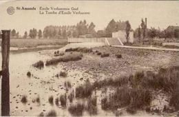 SINT-AMANDS - Emile Verhaeren Graf - Uitg. W. Servaes-Claes, St-Amands - Sint-Amands