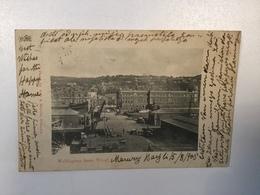 AK  NEW ZEALAND    WELLINGTON FROM WHARF    1903. - Neuseeland