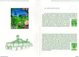 """(Faciale = 4.44 €) """" JARDIN DES PLANTES PARIS """"  Sur Document Officiel De 4 Pages De 2009. N° YT F4384. Parfait éta - Documents Of Postal Services"""