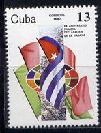 CUBA 1980 2494 20th Anniversary Of The First Havana Declaration - Cuba