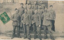 CASTELNAUDARY - GUERRE DE 1914 - GROUPE SYMPATHIQUE D'ALSACIENS INTERNES A CASTELNAUDARY - Castelnaudary