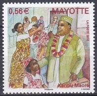 Mayotte 2010 Brauchtum Traditionen Folklore Willkommen Welcome Bienvenu Karibu Maoré, Mi. 233 ** - Mayotte (1892-2011)