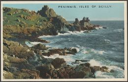 Peninnis, Isles Of Scilly, 1958 - Douglas Postcard - Scilly Isles