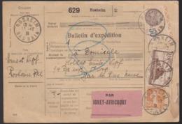 France - Bulletin D'expédition Rosheim Par Igney Avricourt 1931 - Fiscal + 260 +235 - 1921-1960: Modern Tijdperk