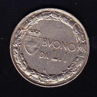 ITALIE, KM 62, 1 L, 1924.  (7P3) - 1861-1946 : Royaume