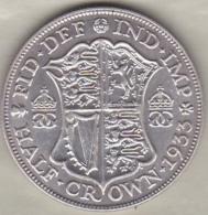 Grande Bretagne . ½ Crown 1933 . George V. En Argent - 1902-1971 : Monnaies Post-Victoriennes