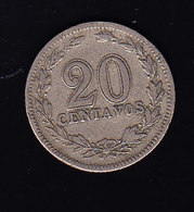 ARGENTINE KM 36,  20c, 1905. (7P4) - Argentine