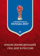 FIFA Confederations Cup Russia 2017 Overprinted Sheet Surcharge In Special Pack - Blocs & Feuillets
