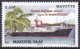 Mayotte 2011 Transport Verkehr Forschung Research Schiffe Ships Vaisseau Lagune Dufresne, Mi. 266 ** - Mayotte (1892-2011)