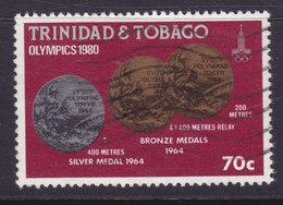 Trinidad & Tobago 1980 Mi. 418     70 C Olympische Sommerspiele Olympic Games Medaillen Medals - Trinidad & Tobago (1962-...)