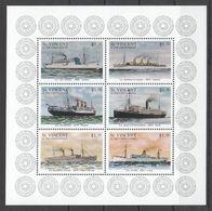 M298 ST.VINCENT TRANSPORTATION SHIPS & BOATS 1KB MNH - Ships
