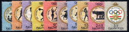 HUNGARY 1960 Olympic Games, Rome  Set Of 11 MNH / **.  Michel 1686-96 - Hungary