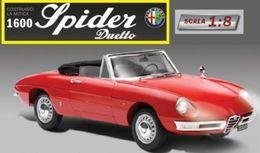 COSTRUISCI LA MITICA ALFA ROMEO 1600 SPIDER DUETTO SCALA 1:8aa.vv.HACHETTE - Bricolage