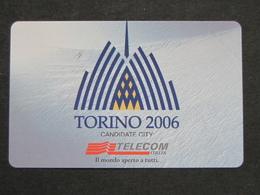 ITALIA TELECOM F3075 C&C 959 GOLDEN - TORINO 2006  - NUOVA MINT MAGNETIZZAZIONE ORIGINALE TELECOM - Jeux Olympiques