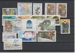 Saint Pierre Et Miquelon Année Complète 1995, 609 à 623 Et PA 74 Neuf ** - Années Complètes