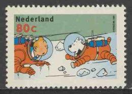 Nederland Netherlands Pays Bas 1999 Mi 1737 Y ** Tintin And Snowy Wearing Space Suits / Tim Und Struppi Mit Raumanzügen - Nuovi