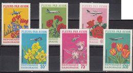 Gabon - FLOWERS / AIRPLANES 1971 MNH - Gabon
