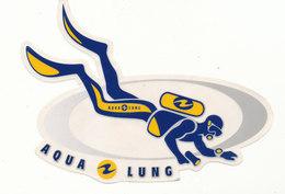 PLONGEE AQUA LUNG - Autocollants