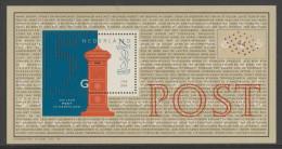 Nederland Netherlands Pays Bas 1999 B 61 = Mi 1739 ** Pillar Box (1850) / Briefkasten / Staande Brievenbus - Post