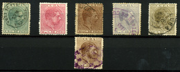 2128-Cuba Nº 68/73 - Cuba (1874-1898)