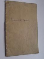 LIVRET -Travail Des Enfants Dans L'INDUSTRIE Haut-Marne CHAUMONT ( Cossanovick Bayel Aube) Anno 1908 / 13 ( Voir Photo ) - Vieux Papiers