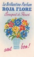 Carte Parfumée Brillantine Parfum Roja Flore Bouquet De Fleurs - Modern (from 1961)